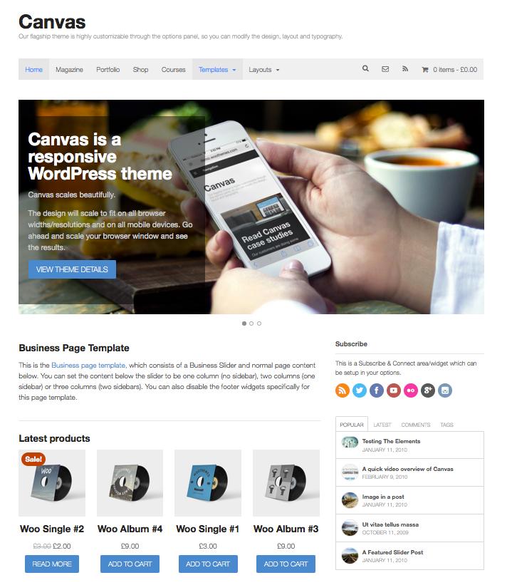 Woo Themes - Professional WordPress Themes