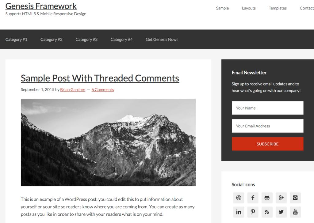Genesis Framework Studio Press - Professional WordPress Themes
