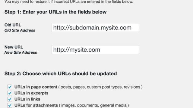 Moving WordPress Subdomain to Root using Velvet Blues Update URLs plugin