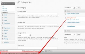 WordPress Category ID Number